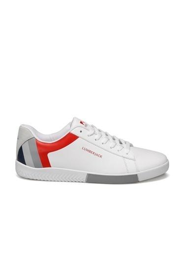Lumberjack Erkek Beyaz Sneakers 100498639  Beyaz